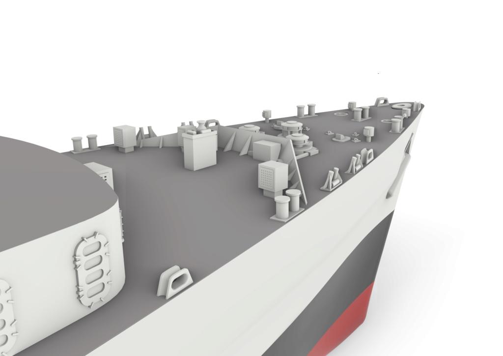 HMS Fearless (scratch 3D 1/350°) par horos 1510
