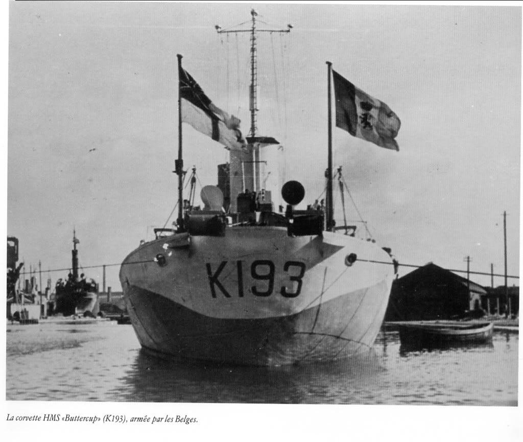 HMS Buttercup frégate belge de la class Flower au 1/144 de Revell - Page 2 49dfb110