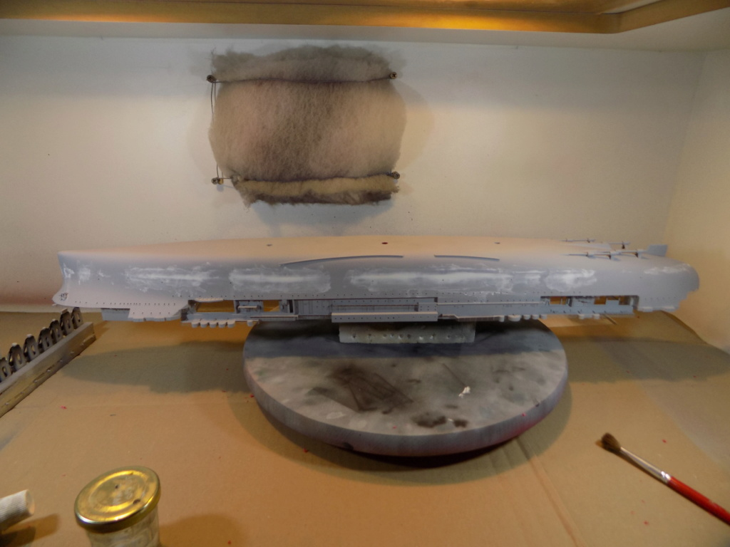 "USS HORNET CV-8 ""Raid on Tokyo"" 1/350 de Trumpeter - Page 5 Dscn1418"