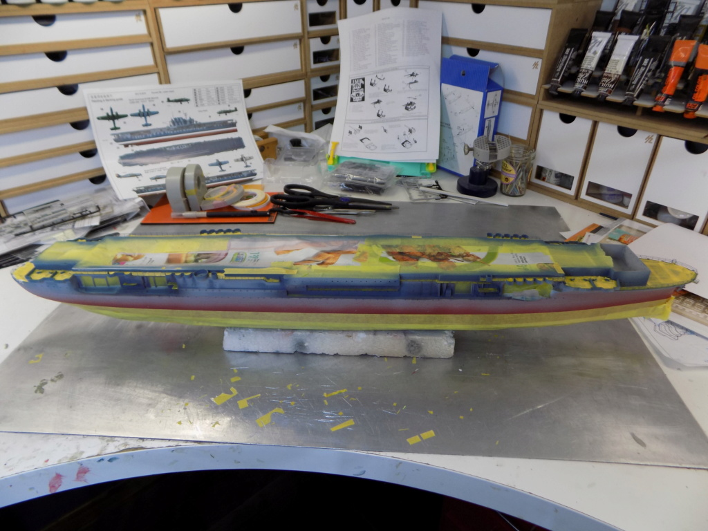 "USS HORNET CV-8 ""Raid on Tokyo"" 1/350 de Trumpeter - Page 6 Dscn1426"