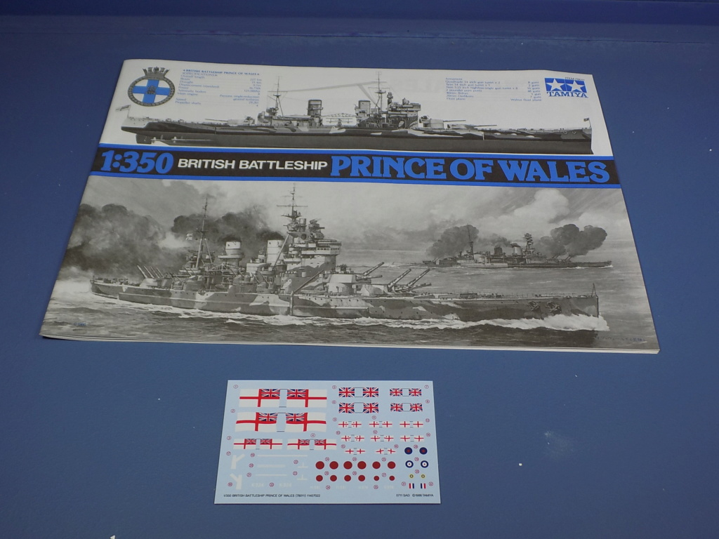 HMS DUKE OF YORK Tamiya 1/350 + Kit Pontos Dscn1749