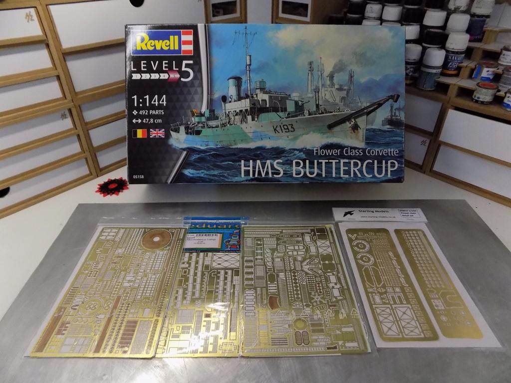 HMS Buttercup frégate belge de la class Flower au 1/144 de Revell Dscn1956