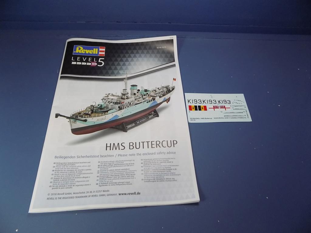 HMS Buttercup frégate belge de la class Flower au 1/144 de Revell Dscn1964