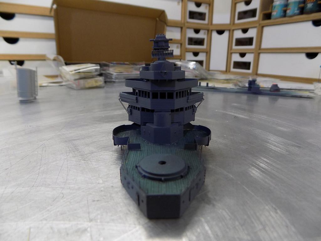 USS San Francisco 1942 au 1/350ème de Trumpeter + Set PE Flyhawk  - Page 4 Dscn2054