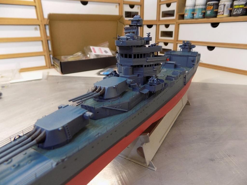 USS San Francisco 1942 au 1/350ème de Trumpeter + Set PE Flyhawk  - Page 4 Dscn2059