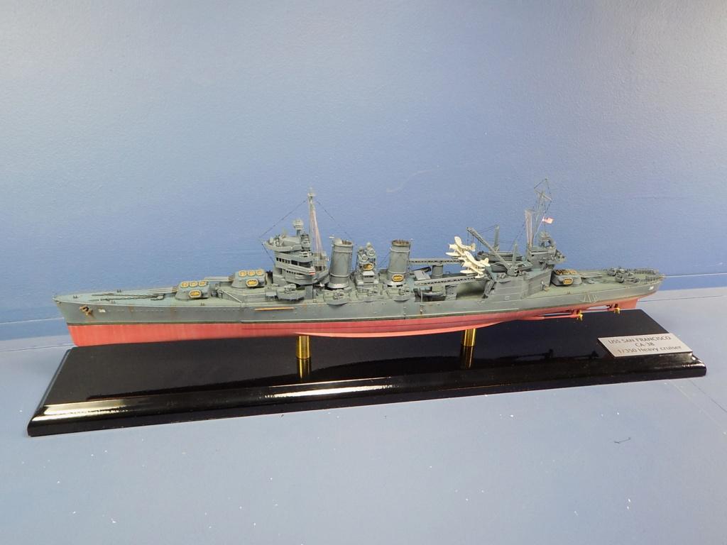 USS San Francisco 1/350ème Trumpeter + Kit PE Flyhawk Dscn2159