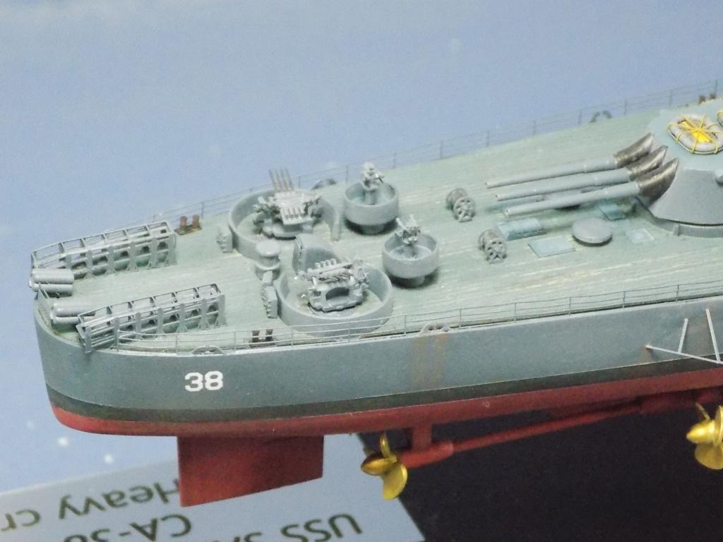 USS San Francisco 1/350ème Trumpeter + Kit PE Flyhawk Dscn2167