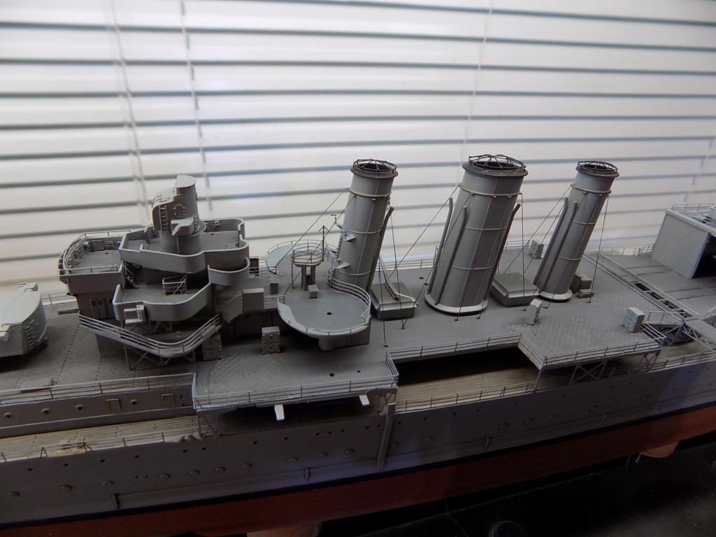 HMS Cornwall (Trumpeter+set PE Eduard 1/350°) par horos - Page 3 Dscn2418