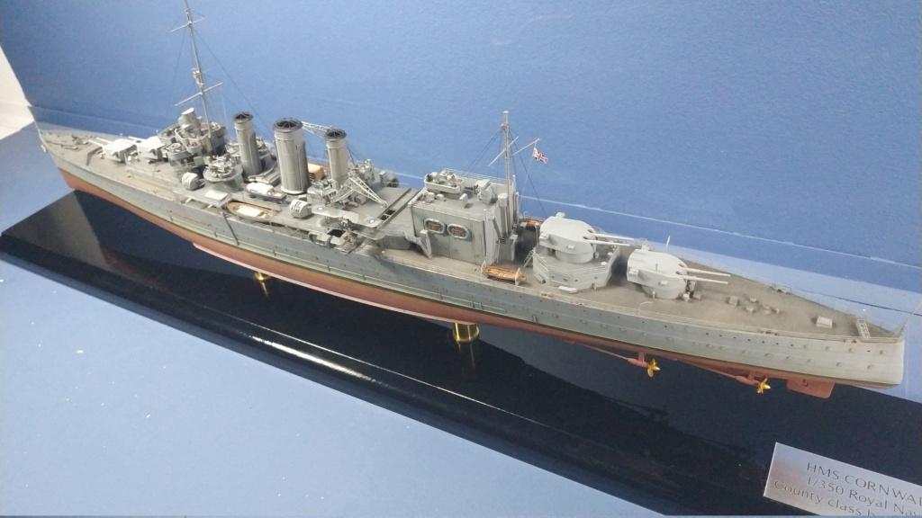 hms cornwall?tid=7961bd82692d7af48d3736abc49ecb2b - HMS Cornwall 1942 Trumpeter 1/350ème Img_2025