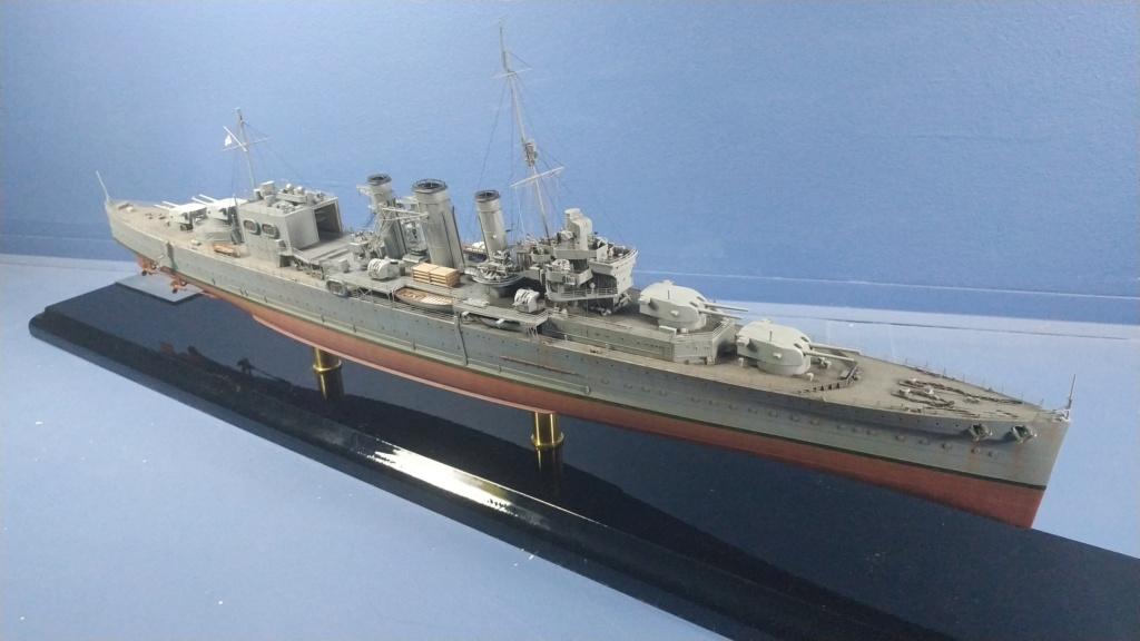 HMS Cornwall 1942 Trumpeter 1/350ème Img_2028