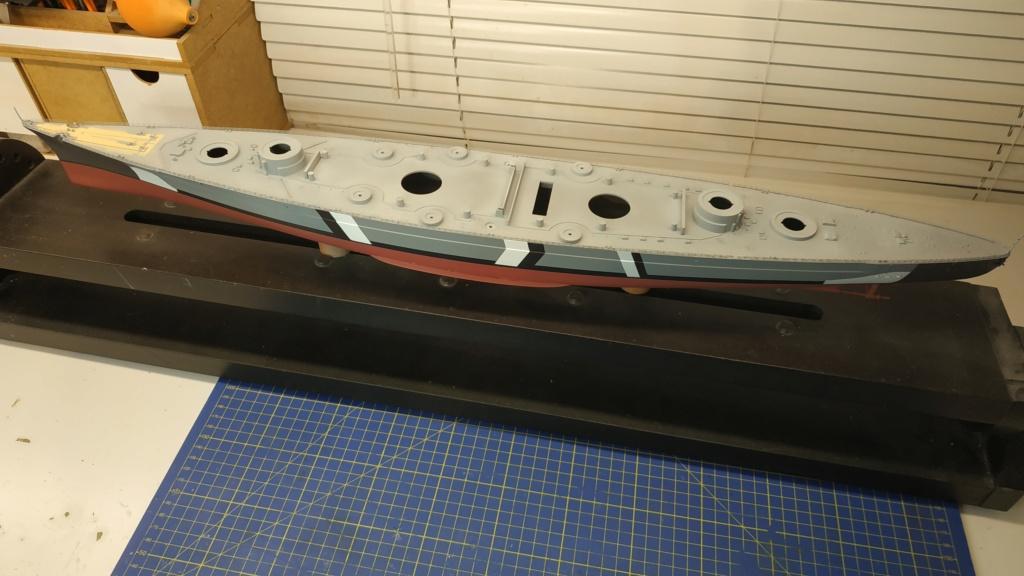 DKM Bismarck 1/350 Trumpeter + PE Eduard Img_2043