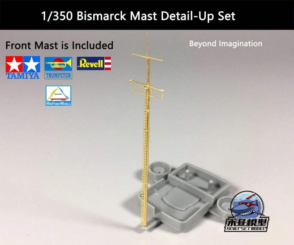 DKM Bismarck 1/350 Trumpeter + PE Eduard S-l16011