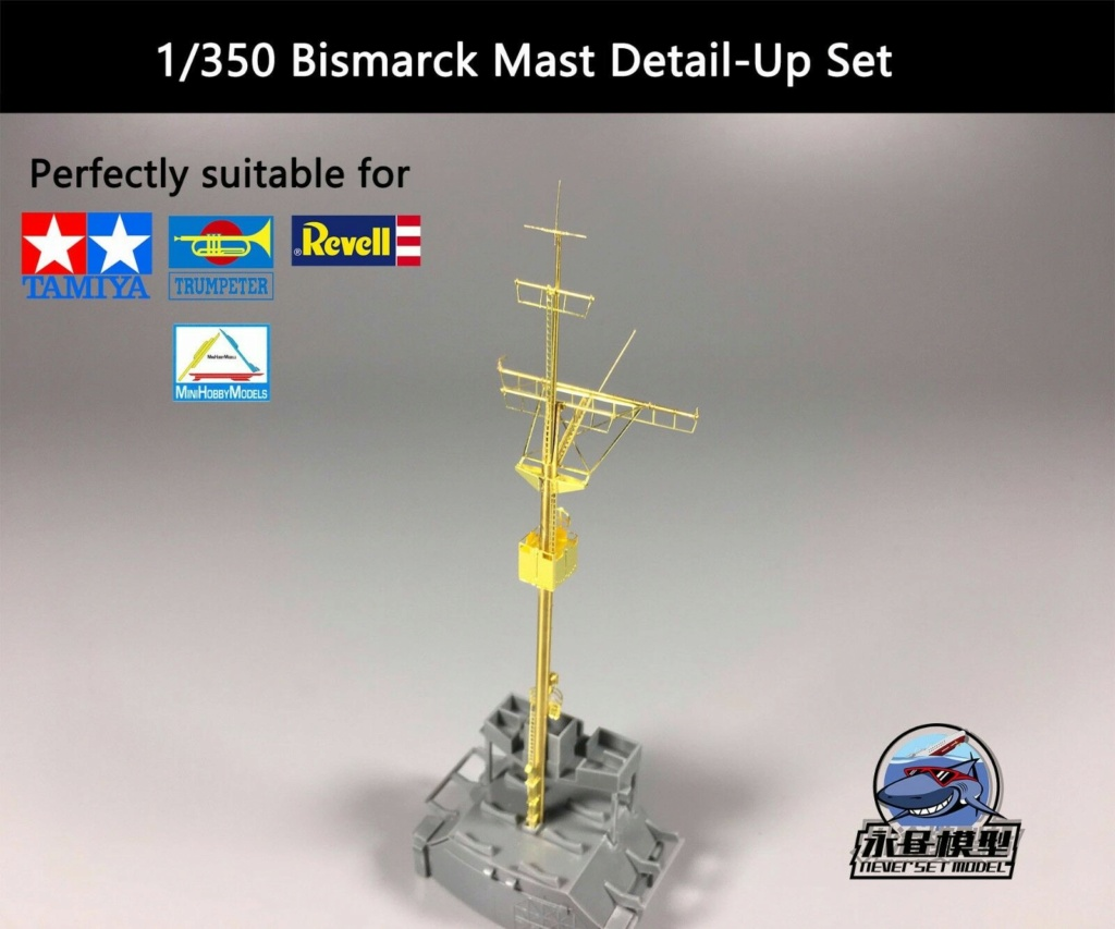 DKM Bismarck 1/350 Trumpeter + PE Eduard S-l16012