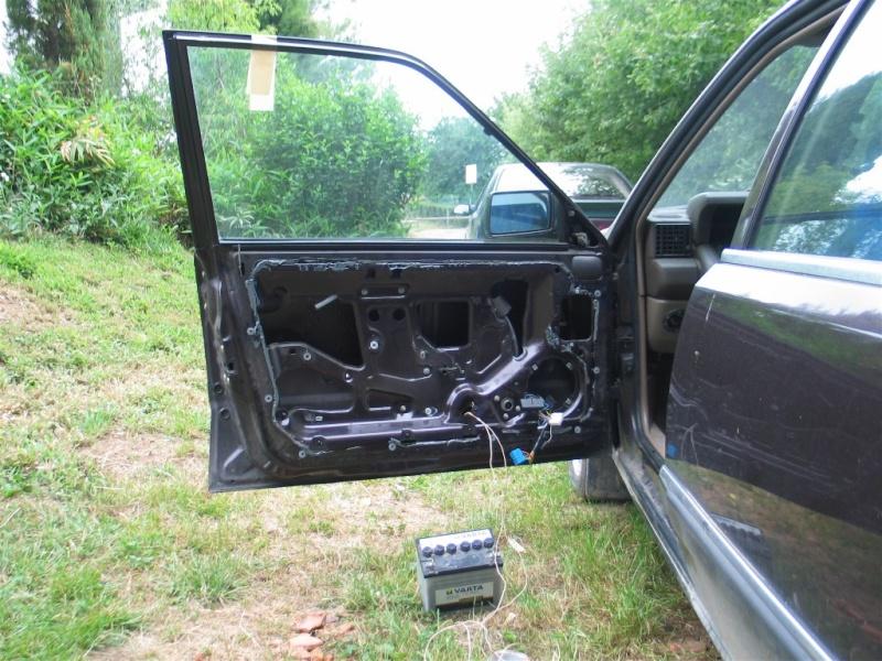 monter vitre électrique sur une ts  212
