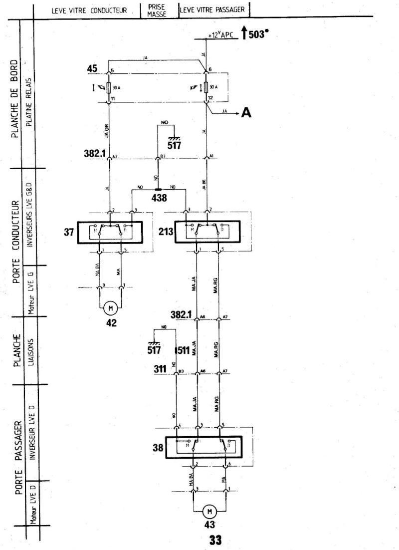 monter vitre électrique sur une ts  811