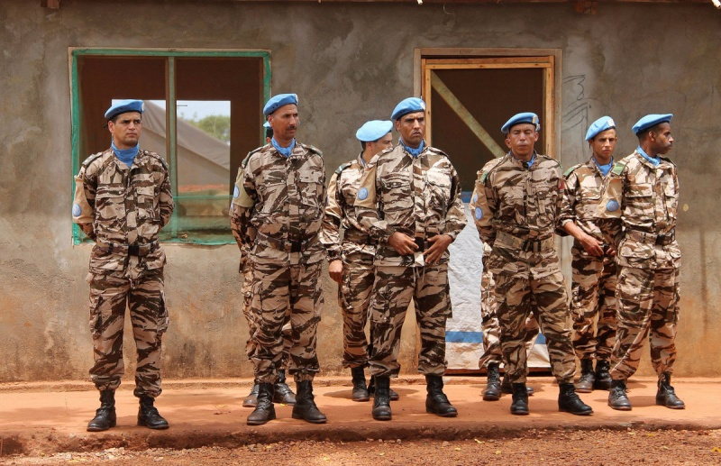 Maintien de la paix dans le monde - Les FAR en République Centrafricaine - RCA (MINUSCA) - Page 2 267