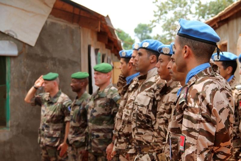 Maintien de la paix dans le monde - Les FAR en République Centrafricaine - RCA (MINUSCA) - Page 2 351