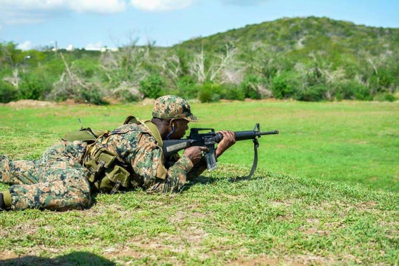 Force de défense de la Jamaïque / jamaica defence force (JDF) 578