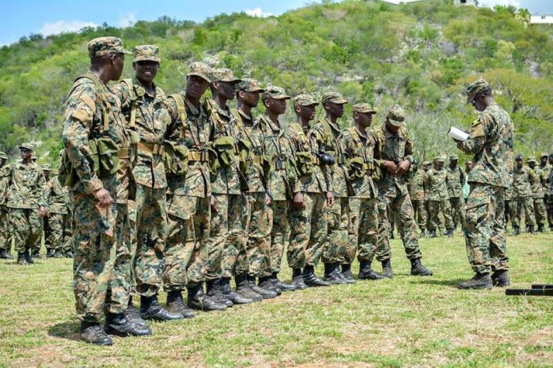 Force de défense de la Jamaïque / jamaica defence force (JDF) 666