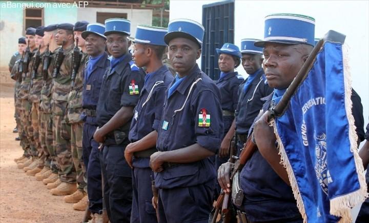 Armées de la République centrafricaine  7105