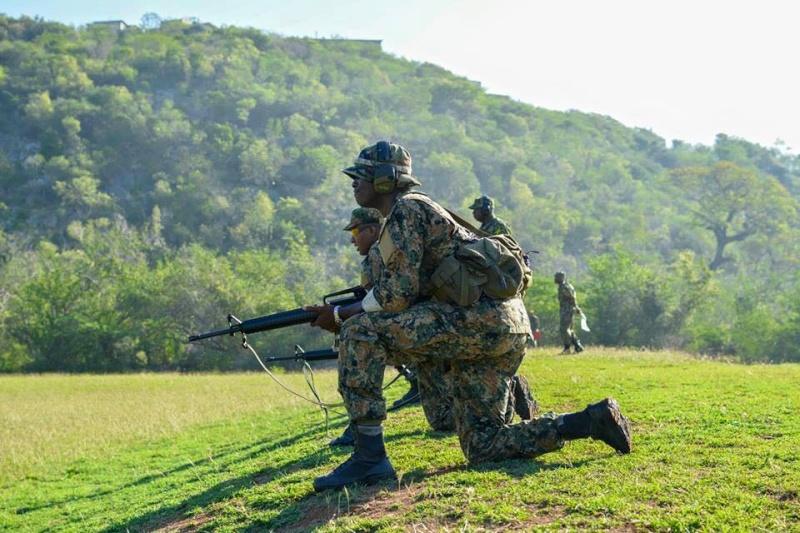 Force de défense de la Jamaïque / jamaica defence force (JDF) 749