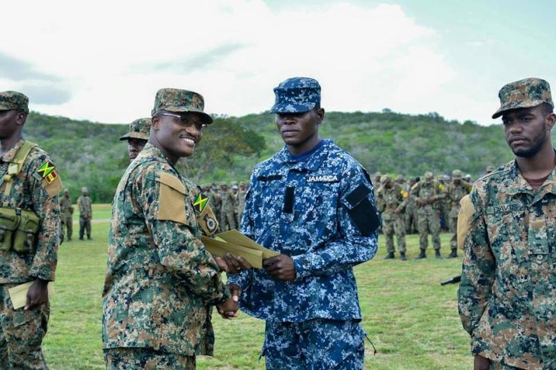 Force de défense de la Jamaïque / jamaica defence force (JDF) 758