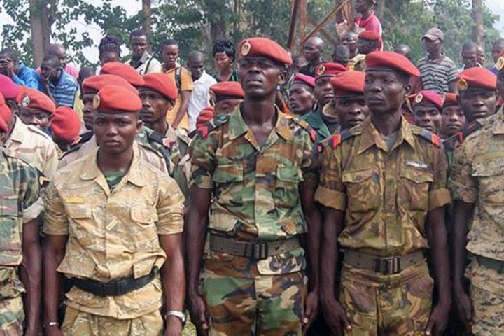 Armées de la République centrafricaine  760