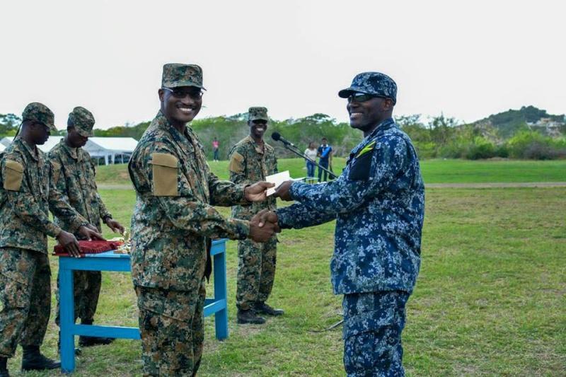 Force de défense de la Jamaïque / jamaica defence force (JDF) 839