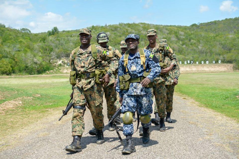 Force de défense de la Jamaïque / jamaica defence force (JDF) 935