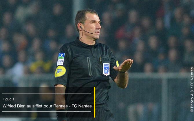 30ème JOURNEE de L1 . Sam. 21 mars 201520:00Stade Rennais-  FC Nantes Arbitr10