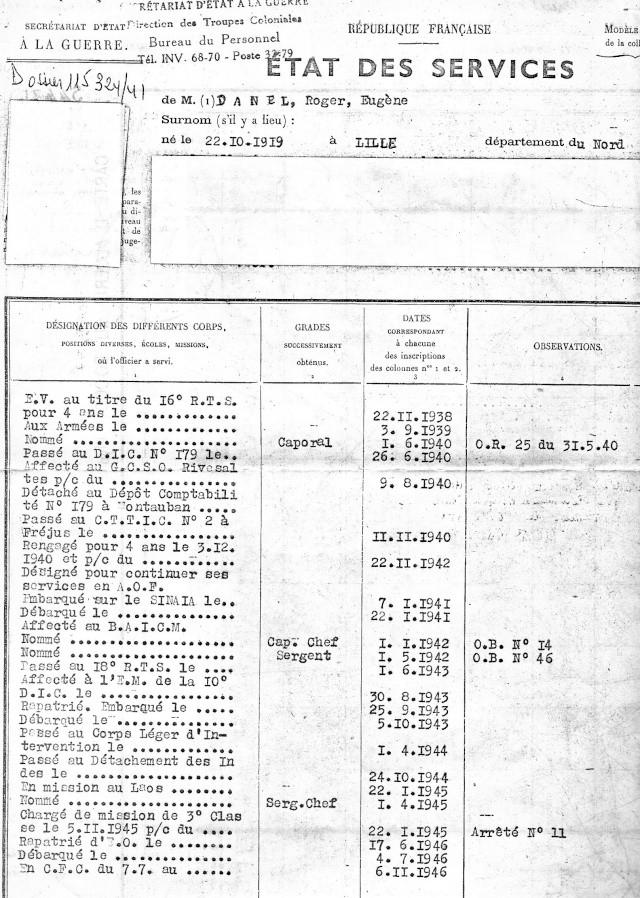 1ère demi-brigade de parachutistes au Laos en octobre 1945 1_etat11