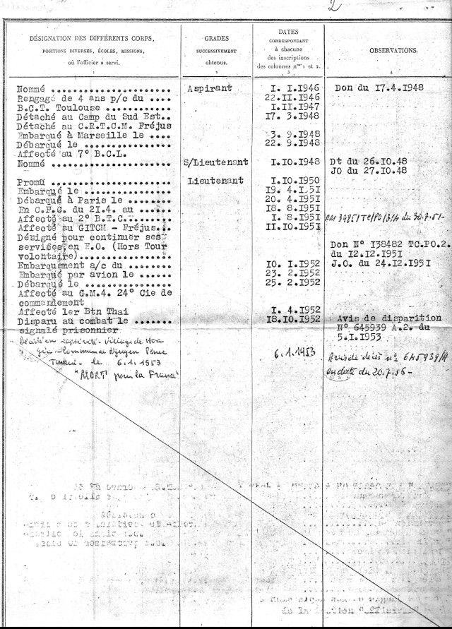 1ère demi-brigade de parachutistes au Laos en octobre 1945 2_etat11