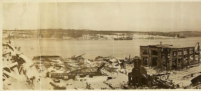 Tragédie à Halifax en 1917 E0000010