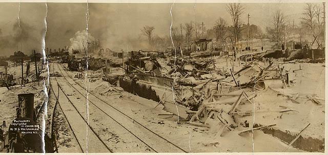 Tragédie à Halifax en 1917 E0000011