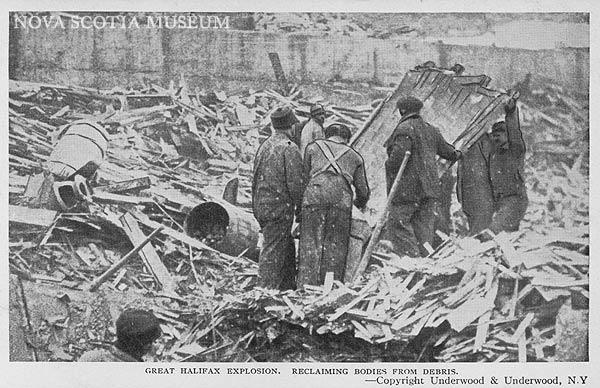 Tragédie à Halifax en 1917 Halifa11