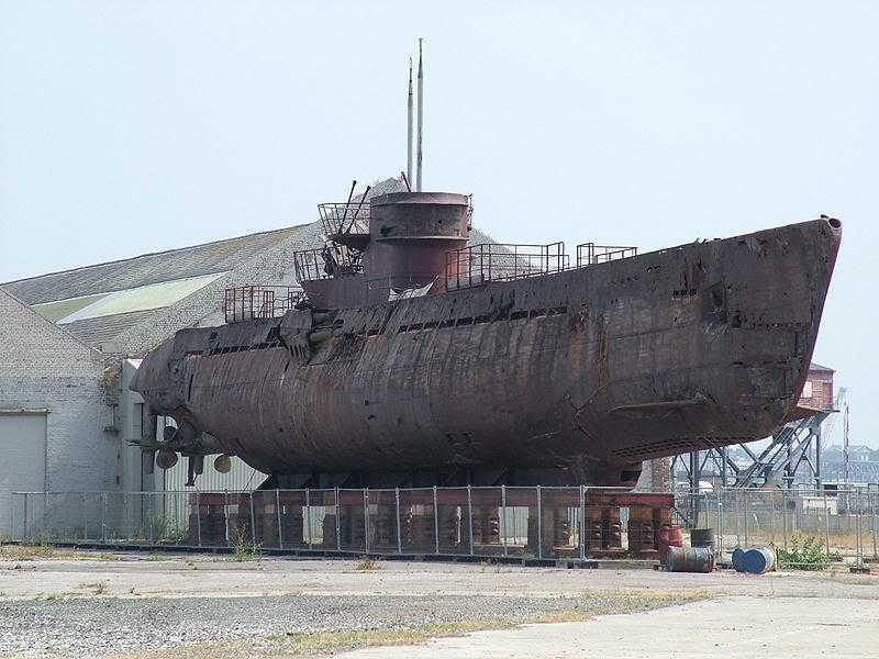 récupération de l'U-Boat 534 Post-310