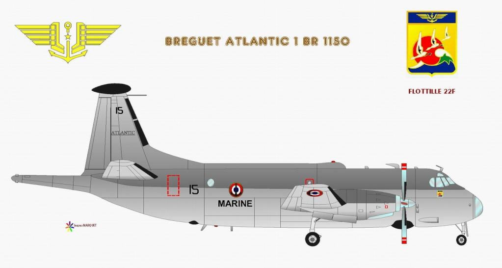 [Les anciens avions de l'aéro] Le Bréguet Atlantic (BR 1150) - Page 3 Brygue11