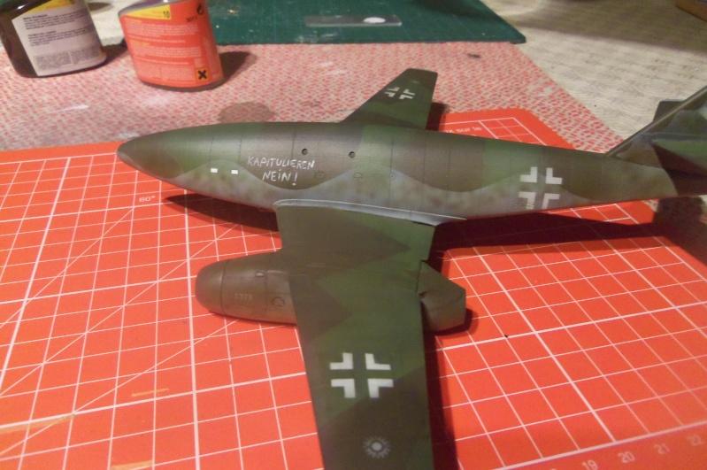 Mistel Me 262 + He 162 - montage en cours 100_2213