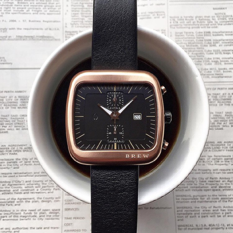 après l'Apple Watch - la Nespresso watch Brewin11