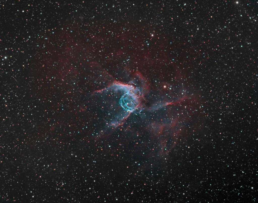 Casque bleu de Thor - NGC 2359 - SHO Claude10