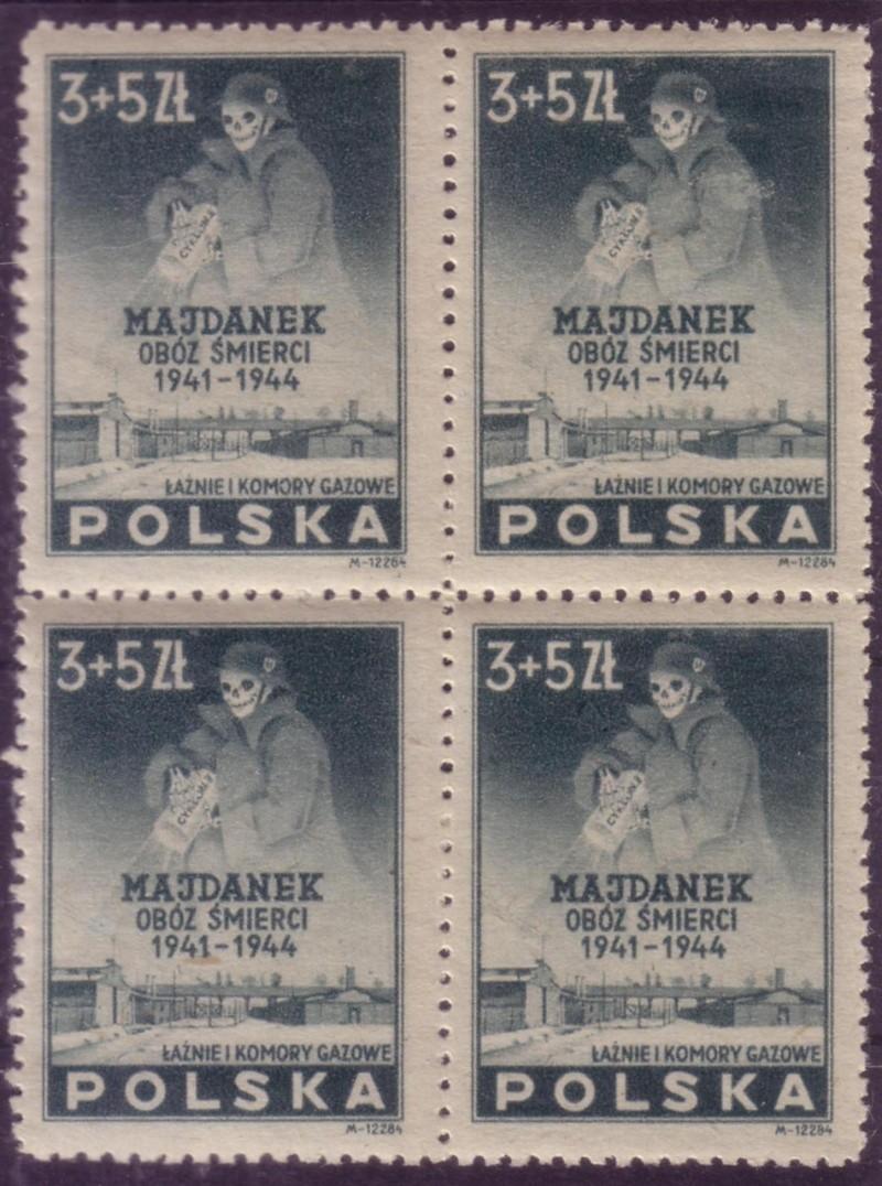 Timbre sur les camps de la mort: Majdanek. Camps_11