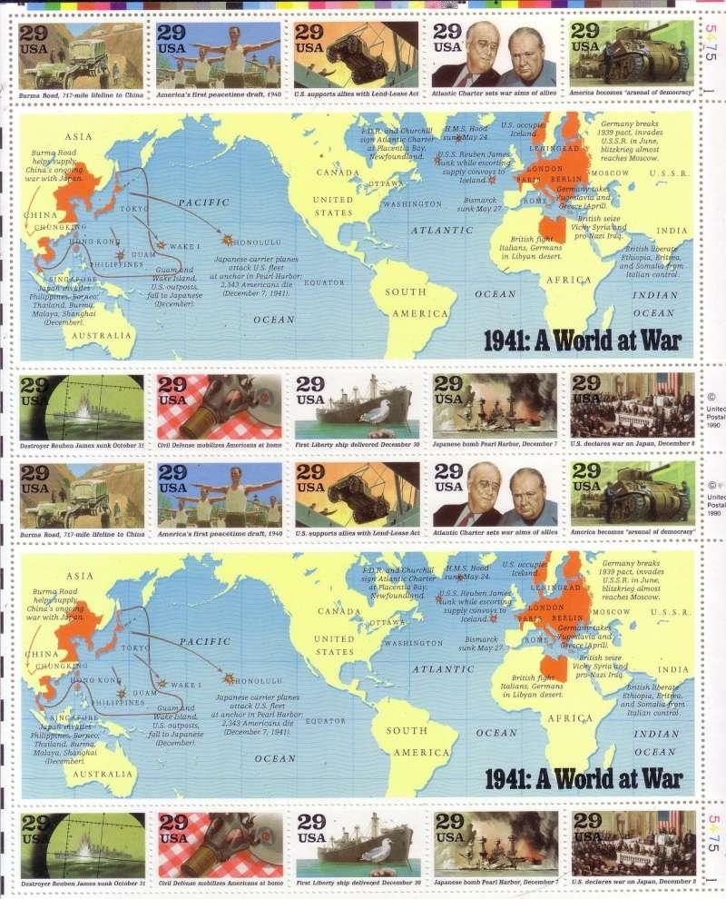 Toute la Seconde guerre mondiale en 5 planches de timbres! Scan1017