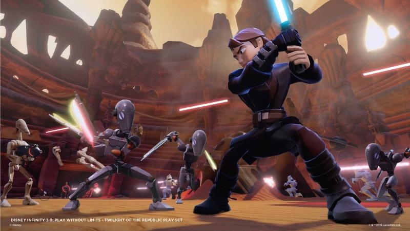 Disney Star Wars Infinity 1.0, 2.0 et 3.0 Star Wars Inf210