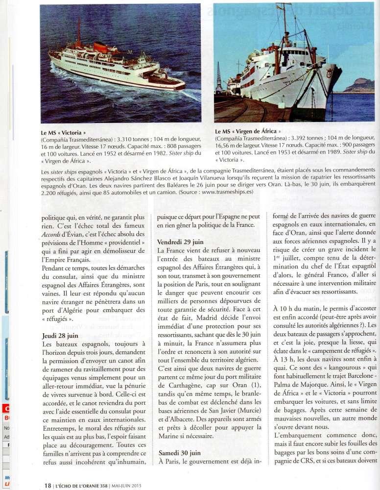 EVACUATION DES ESPAGNOLS D'ORANIE EN JUIN 1962 Img36810