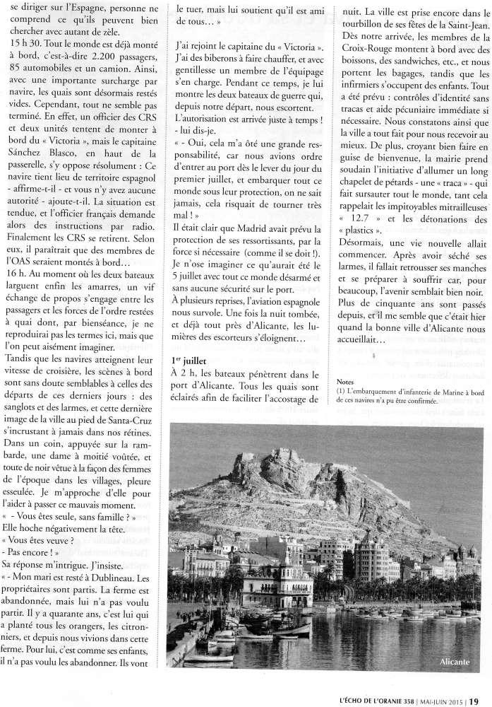 EVACUATION DES ESPAGNOLS D'ORANIE EN JUIN 1962 Img37110