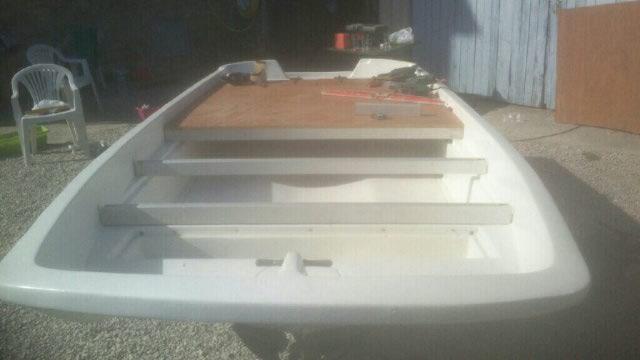 amménagement de mon boston whaler 13' en bass boat Boat_310