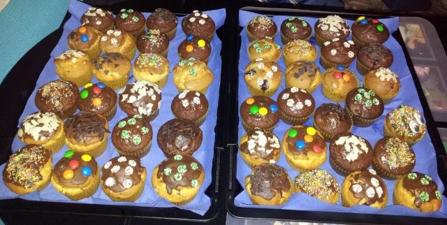 Unser Stammtisch feiert seinen vierten Geburtstag Muffin11
