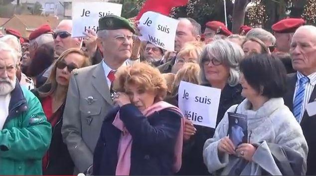 """""""Je suis Hélie"""" nos patriotes avaient de l'humour - cérémonie inauguration rue du commandant Denoix de Saint Marc à Béziers Saint_10"""