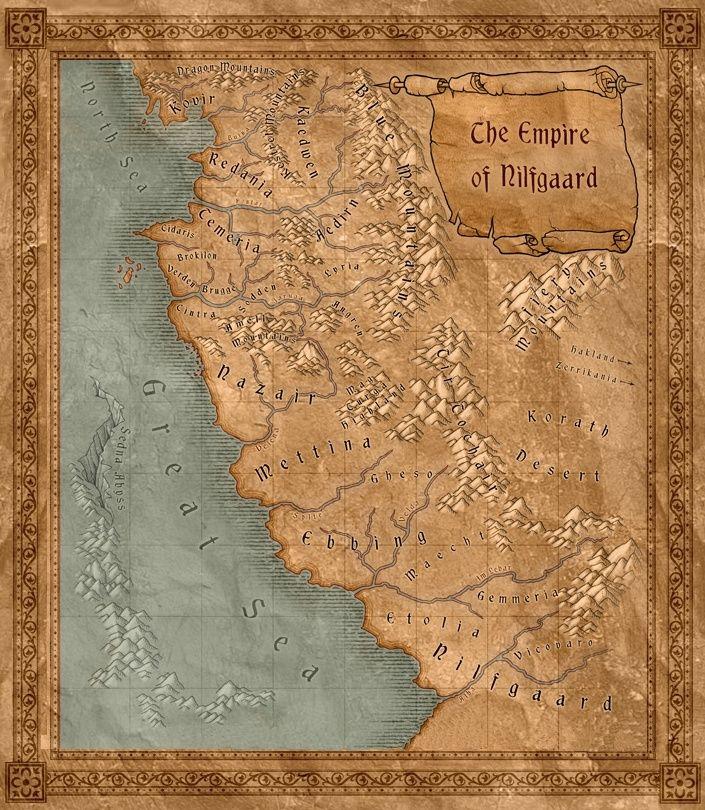 The Witcher. Ou la Saga du Sorceleur. Map_ni11