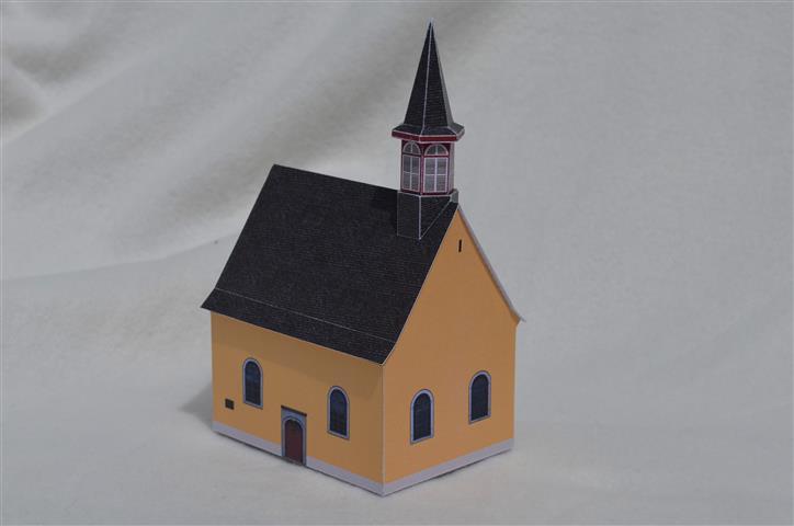 Oberkassel und die Kallboys - Die evangelische Kirche von Oberkassel Dsc_0815
